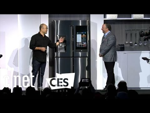 See the best moments of Samsung's CES 2018 press conference