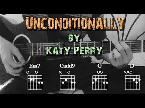 How to Play ▷Katy Perry ~ Unconditionally◁ ||Guitar Full Tutorial ...