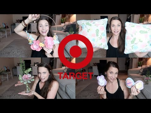 Target Haul!!  Easter / Spring Finds at Dollar Spot + More!!  Decorating like a real youtuber.