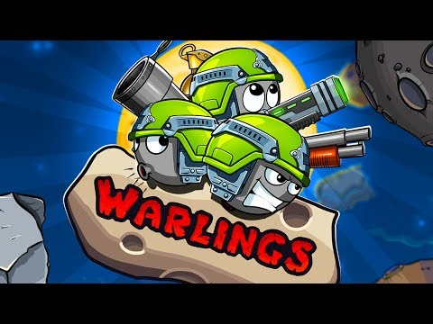 Warlings: Battle Worms Android GamePlay Trailer (HD) [Game For Kids]
