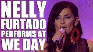 Nelly Furtado and K'naan - 'Is Anybody Out There' (Live from WE Day 2012)