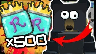 500x MORE ROYAL JELLY & DIAMOND ANT AMULET! | Roblox Bee Swarm Simulator