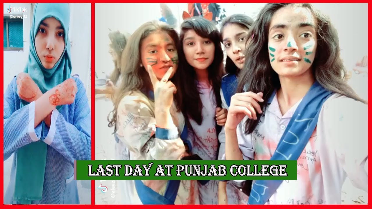Punjab College Boys  Girls Last Day At College  Pgc Inside - Youtube-1298