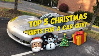 Top 5 Christmas gifts for a car guy