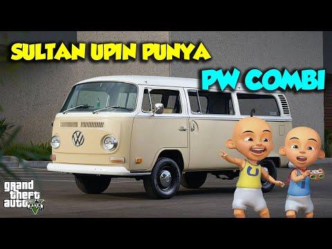 Sultan Upin punya mobil baru PW Combi Keren, Ipin Suka - GTA V Upin Ipin Episode Terbaru 394
