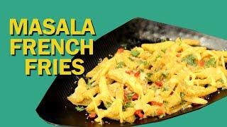 Masala French Fries | Crispy French Fries | मसाला फ्रेंच फ्राइज | Homemade French Fries | Food Tak
