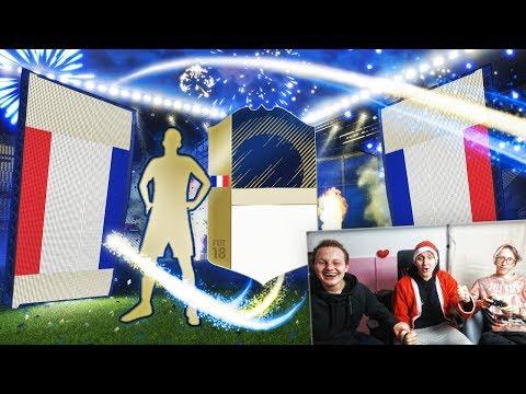 TRAFIŁEM NIESAMOWITĄ IKONĘ!!! 5X PACZKI ZA 100K! | FIFA 18