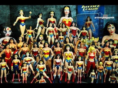 Wonder Woman Action Figure Collection DC Universe