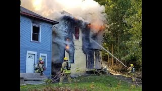 Bellingham fire destroys two rental homes on Sehome Hill