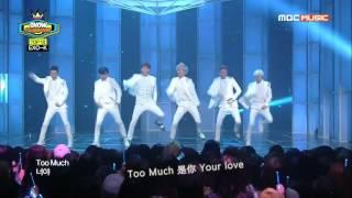 【中字】140514 MBC Music Show Champion EXO K -- Overdose