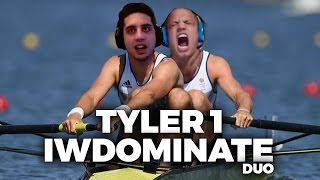 TYLER1 AND IWDOMINATE ROW IT DOWN MID