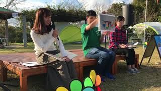 11/5 菊川テント村2017 玲衣&ありす ことばのチカラつたえ隊.