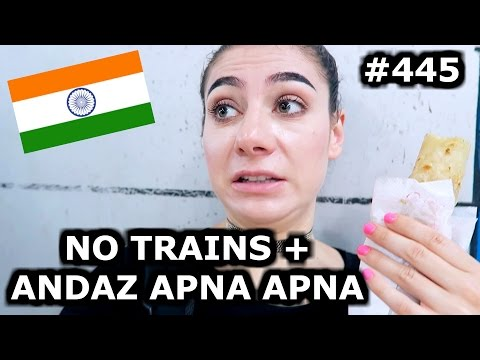 BOOKING A FLIGHT TO JAIPUR + WATCHING ANDAZ APNA APNA | MUMBAI DAY 445 | INDIA | TRAVEL VLOG IV