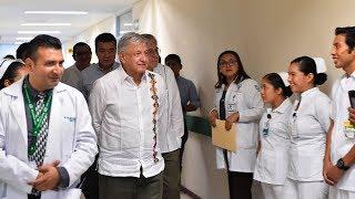 Recorrido por el Hospital Rural Venustiano Carranza, Chiapas