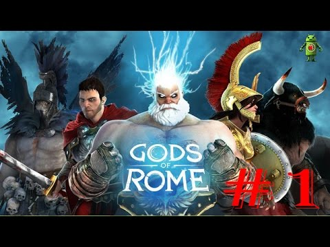 Gods Of Rome (iOS/Android) Gameplay HD - Part 1