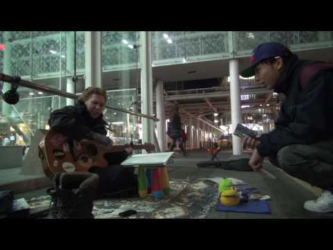 Another great night performing at Kawasaki Station in Kanagawa, Japan (Part 1).