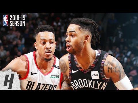 Portland Trail Blazers vs Brooklyn Nets - Full Highlights | February 21, 2019 | 2018-19 NBA Season
