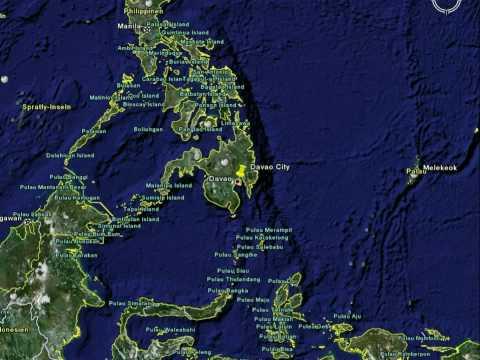 Philippines - Davao City - Location
