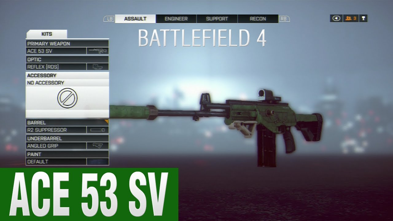 ace 53 sv rifle