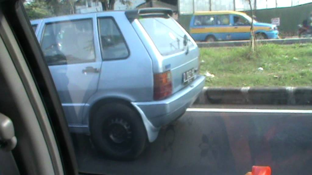 Fiat Uno Spotted In Soekarno Hatta Bandung Indonesia On July 5