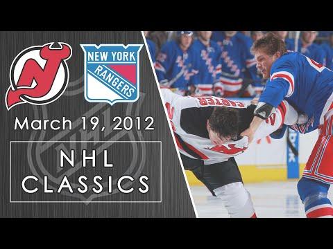 NHL Classics: New Jersey Devils Vs. New York Rangers | 3/19/12 | NBC Sports