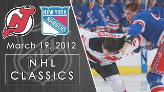 NHL Classics: New Jersey Devils vs. New York Rangers | 3/19/12 | NBC Sports