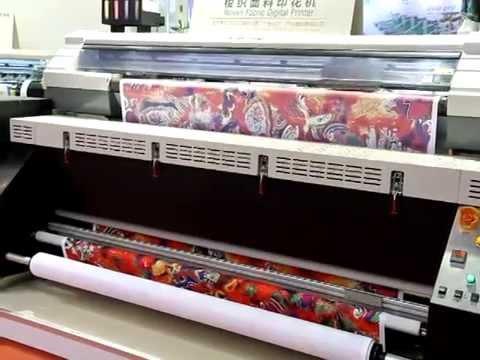 TWINJET PHOENIX 1800 in FESPA China 2013