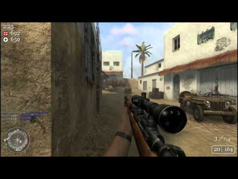 Call of Duty 2 Multiplayer Gameplay HD
