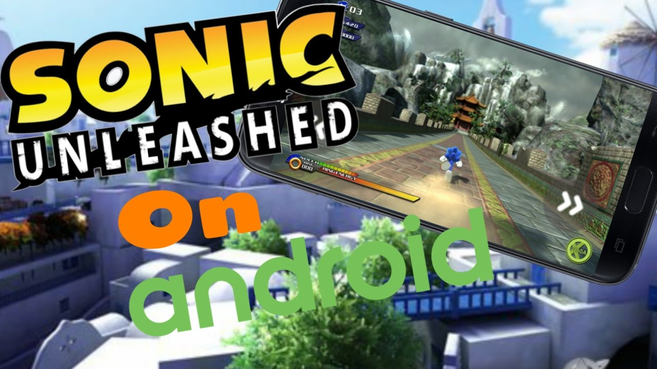 sonic unleashed no celular