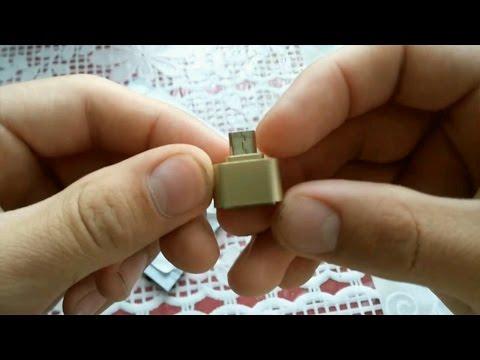 Micro USB OTG переходник для телефона с Aliexpress