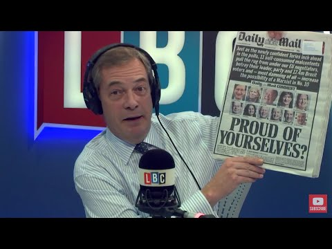 The Nigel Farage Show: Was yesterday's vote a Remainer backlash? Live LBC - 14th December 2017