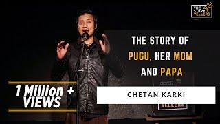 The Story of Dixita (Pugu), her mom and Papa - Mr. Chetan Raj Karki (Chetanvlogs)