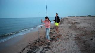 рыбалка на море ловля пеленгаса ч.6 третий день вечер