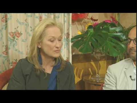 Meryl Streep & Stanley Tucci - GMTV 2009