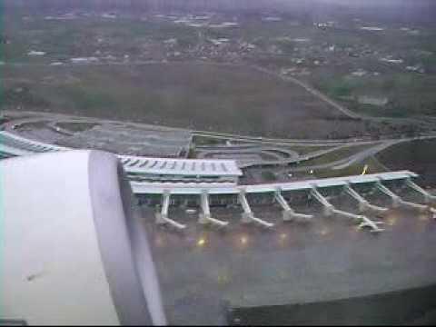TURKISH AIRLINES TAKE OFF ANKARA ESENBOGA AIRPORT B737 800