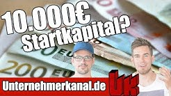 5 Geschäftsideen mit 10.000€ Startkapital! Was kannst du damit umsetzen?