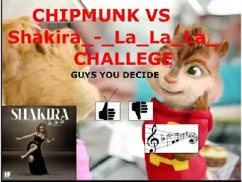 Shakira - La La La (Brazil 2014) ft. Carlinhos Brown (Chipmunk)