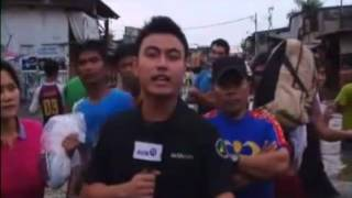 Korban Banjir Muara Baru Menunggu Bantuan Jokowi