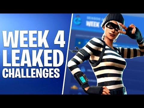 Fortnite Week  Challenges   Cheat Sheet   Season