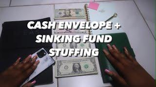 CASH ENVELOPE + SINKING FUNDS STUFFING | JUNE 2021 | Deja Washington