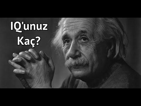 10 SORUDA IQ- ZEKA TESTİ
