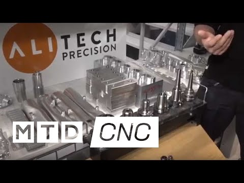 Tools last longer at Alitech Precision thanks to Centro P tooling from WNT