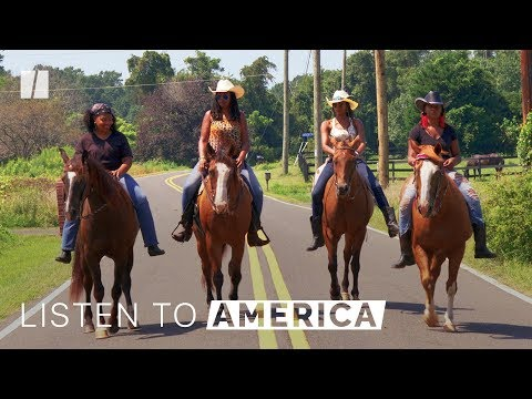 Meet The Cowgirls Of Color   Listen To America