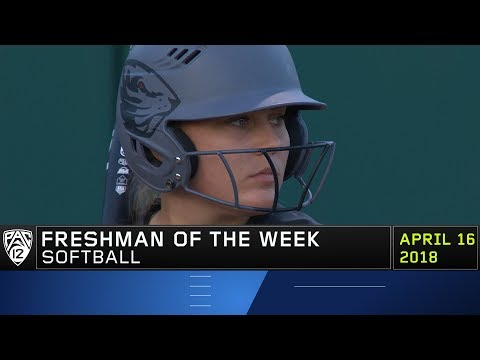 Oregon State's Missy Nunes claims Pac-12 Softball Freshman of the Week honors