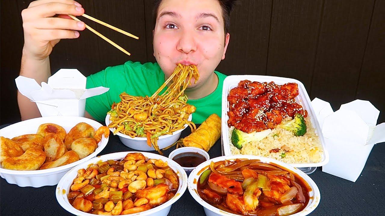 Chinese Take-Out • MUKBANG - YouTube