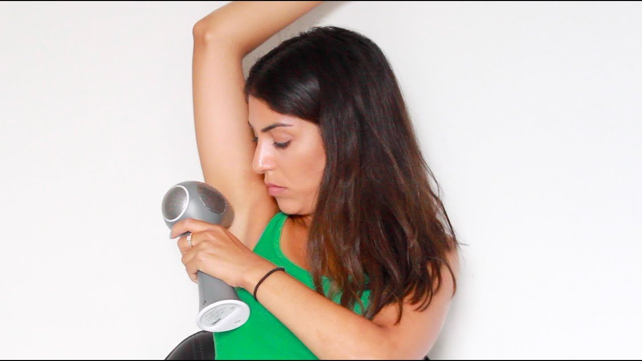 Tria Beauty Hair Removal Laser 4x - Demo And Review  After 3 Sessions