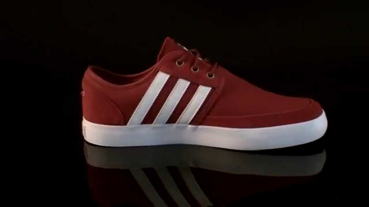 sneakers air jordan - Adidas Seeley Boat Sneaker STNore Run White Stcark G98079 - YouTube