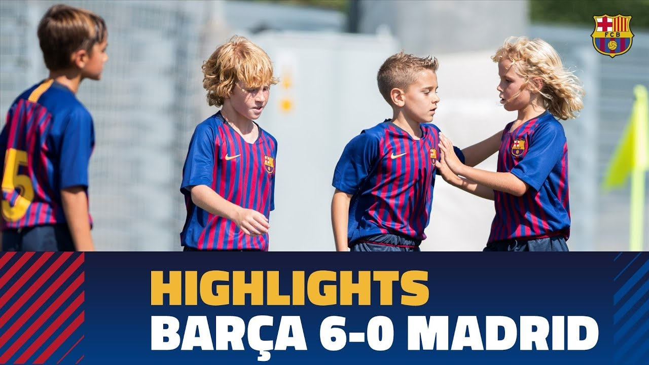 Photo of [HIGHLIGHTS] Barça U10 A 6-0 Real Madrid – الرياضة