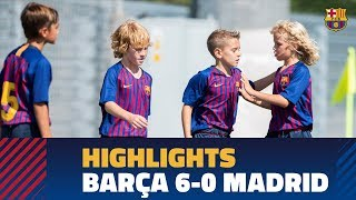 Highlights  Barça U10 A 6-0 Real Madrid
