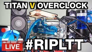 Live: #RIPLTT Taking The OC Crown from LinusTechTips